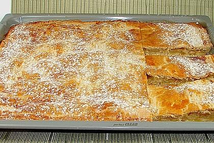 Apfelkuchen gedeckt 1