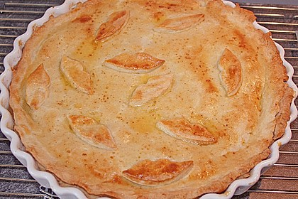Apfelkuchen gedeckt 22