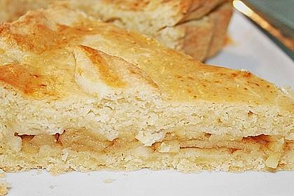 Apfelkuchen gedeckt 21