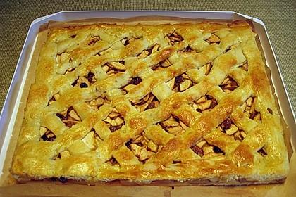 Apfelkuchen gedeckt 46