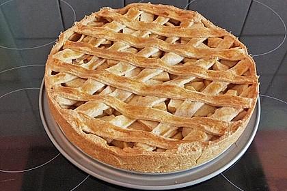 Apfelkuchen gedeckt 23