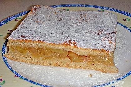 Apfelkuchen gedeckt 2