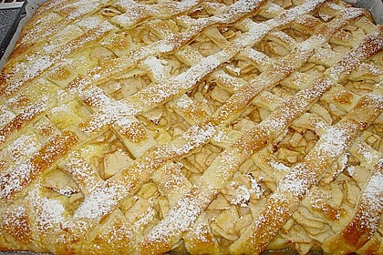 Apfelkuchen gedeckt 3
