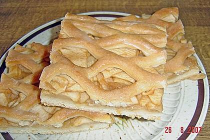 Apfelkuchen gedeckt 4