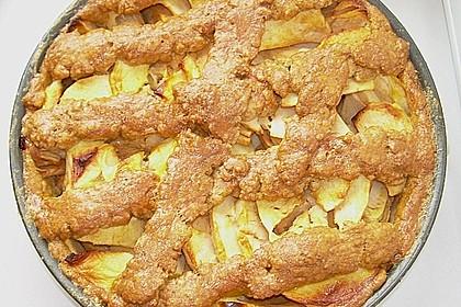 Apfelkuchen gedeckt 50