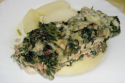 Lachs - Spinat - Auflauf 0