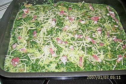 Lachs - Spinat - Auflauf 8