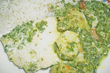 Lachs - Spinat - Auflauf 9
