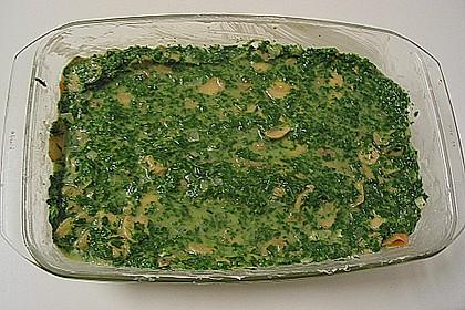 Lachs - Spinat - Auflauf 15
