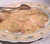 Putenschnitzel in Estragonsauce