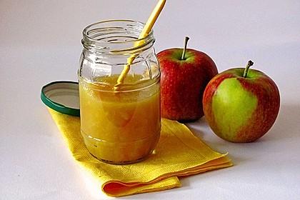 Apfelmus mit Ingwer und Chili 0