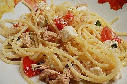 Pasta mit Thunfisch