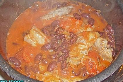 Kidneybohnen in Tomatensauce 7