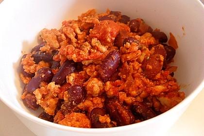 Kidneybohnen in Tomatensauce 3