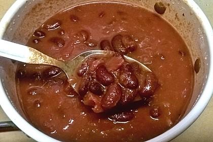 Kidneybohnen in Tomatensauce 6