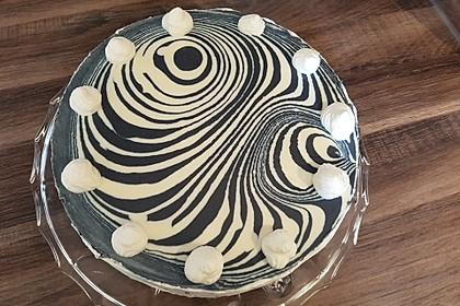 Zebra - Torte 1