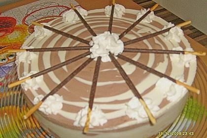 Zebra - Torte 123