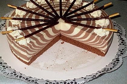 Zebra - Torte 25