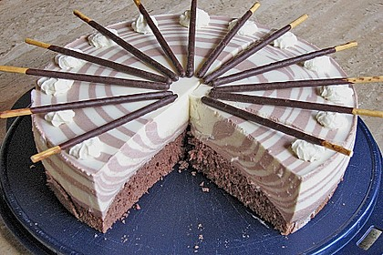 Zebra - Torte 7