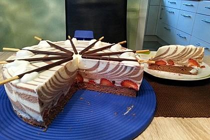 Zebra - Torte 2