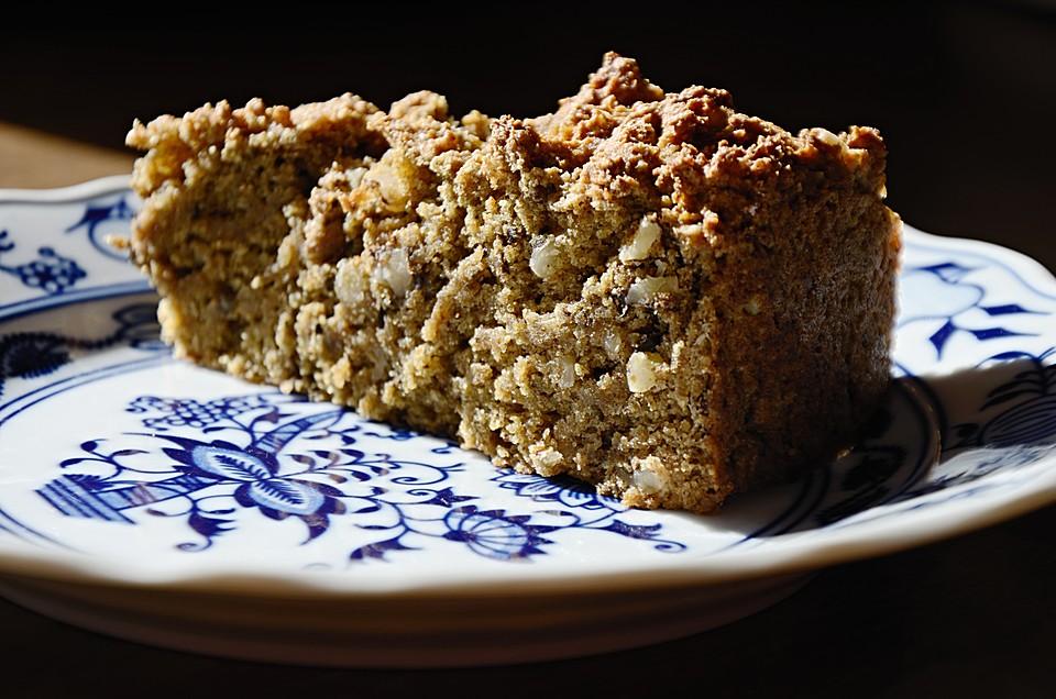 Bananen Schoko Nuss Kuchen Vegan Hausrezepte Von Beliebten Kuchen