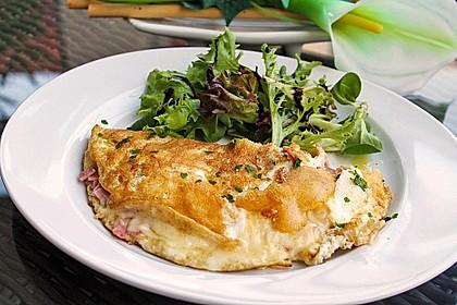 Eiweiß - Omelette