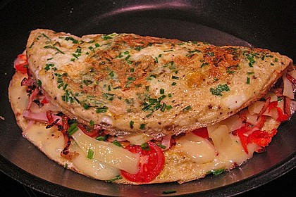 Eiweiß - Omelette 4