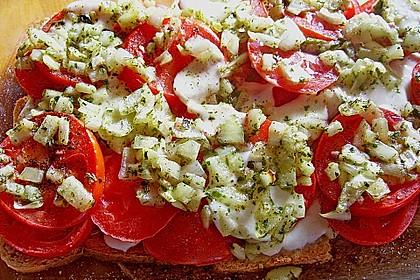 Tomaten - Mozzarella Auflauf
