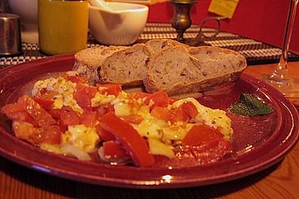 Tomaten - Mozzarella Auflauf 1