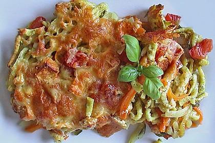 Käsespätzle mit Gemüse 4