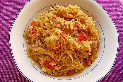 Ungarisches Sauerkraut 1