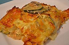 Leichte Lasagne mit Hüttenkäse