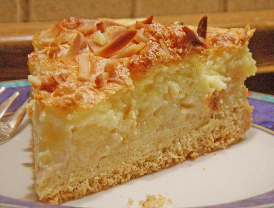 Spanische vanille kirsch torte