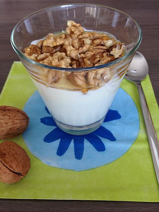 jogurt mit honig rezept mit bild von vera61. Black Bedroom Furniture Sets. Home Design Ideas