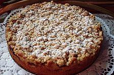 Rhabarber - Streuselkuchen