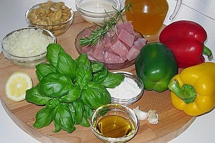 Würzige Puten - Paprika - Pfanne 3