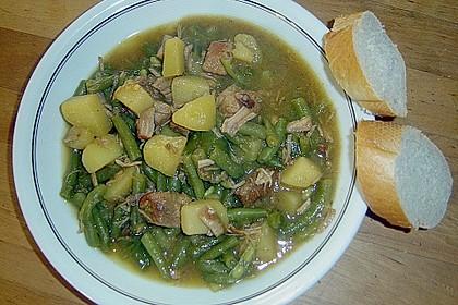 Spanischer Gemüse-Fleisch-Topf