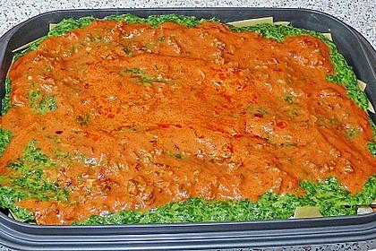 Spinat - Bolognese - Lasagne 11