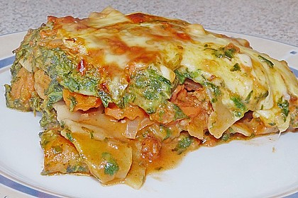 Spinat - Bolognese - Lasagne 1