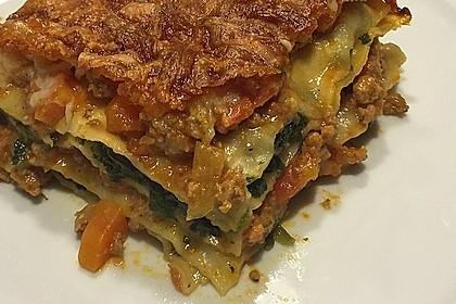 Spinat - Bolognese - Lasagne 6