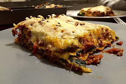 Spinat - Bolognese - Lasagne 2