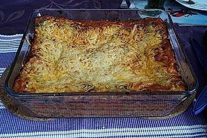 Spinat - Bolognese - Lasagne 13