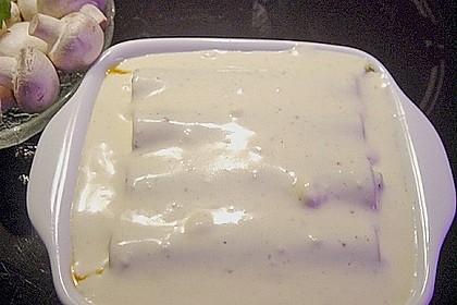 Cannelloni mit Hähnchen - Pilz - Füllung 15