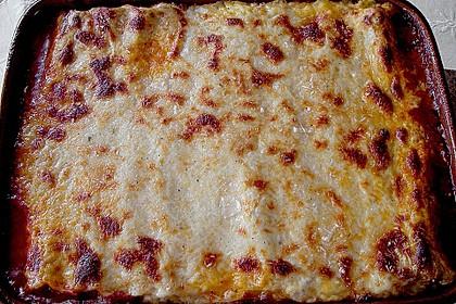 Cannelloni mit Hähnchen - Pilz - Füllung 3
