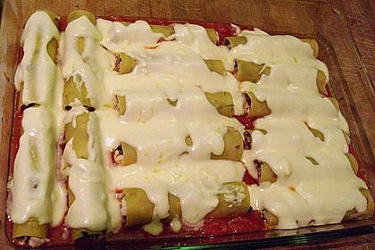 Cannelloni mit Hähnchen - Pilz - Füllung 10