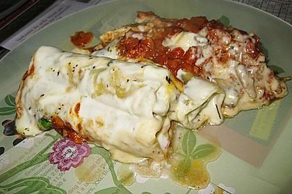 Cannelloni mit Hähnchen - Pilz - Füllung 7