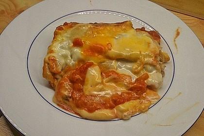 Cannelloni mit Hähnchen - Pilz - Füllung 16