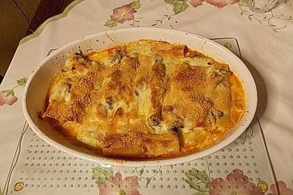 Cannelloni mit Hähnchen - Pilz - Füllung 8
