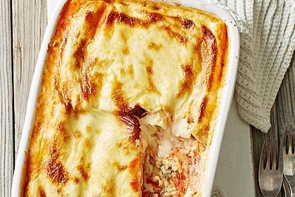 Cannelloni mit Hähnchen - Pilz - Füllung 1