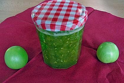 Grüne Tomatenmarmelade 2